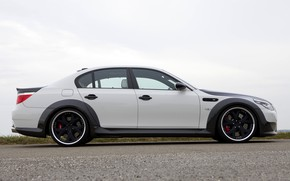 Picture BMW, sedan, side view, G-Power, 2009, V10, E60, BMW M5, Lumma Design, M5, 730 HP, …