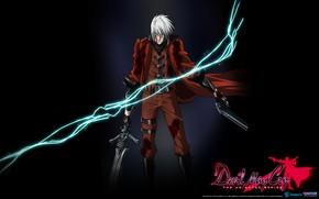 Picture lightning, guy, Devil May Cry