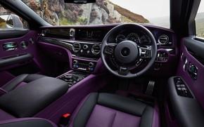 Picture interior, Rolls-Royce, Ghost, salon, V12, Interior, 2020