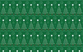 Picture green, background, texture, tree