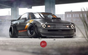 Picture Muscle, Nissan, Nissan 350Z, Car, Art, Design, 350Z, Vehicles, Hoonigan, Transport & Vehicles, by Timothy …