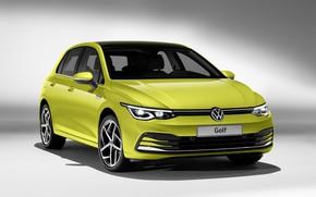 Picture Volkswagen, hatchback, Golf, hatchback, 2020