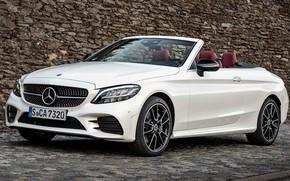 Picture Mercedes-Benz, Mercedes, 2018, Cabriolet, C-Class, AMG Line