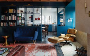 Picture design, style, interior, kitchen, living room, dining room, Camp Frio, by Tim Cuppett Architects