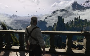 Picture The Witcher 3: Wild Hunt, Geralt of Rivia, CD Project RED, Kaer Morhen, 21:9, UltraWide