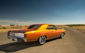 Picture Coupe, Chevy, Chevelle, Muscle car, Road, Vehicle