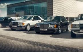 Picture Auto, Machine, Machine, Mercedes, W123, W124, Mikhail Sharov, Transport & Vehicles, by Mikhail Sharov, Mercedes-Benz …