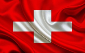 Picture background, cross, Switzerland, flag, red, Switzerland, Switzerland, cross, fon, flag, switzerland