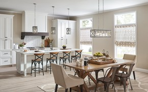 Picture design, style, interior, kitchen, dining room
