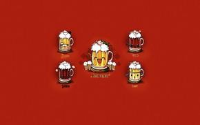 Picture Style, Dark, Beer, Glass, Light, Red, Art, Art, Glass, Style, Festival, Oktoberfest, Festival, Oktoberfest, Beer, …