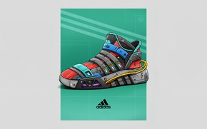 Picture Minimalism, Style, Brand, Art, Art, Style, Adidas, Sneakers, Illustration, Concept Art, Minimalism, Brand, Shoes, Shoes, …
