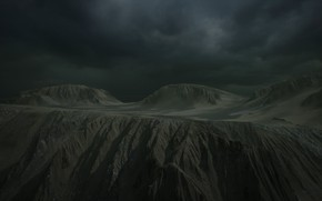 Picture clouds, rays, mountains, clouds, fog, rock, landscape, alien, clouds, rays, fog, rendering, Unreal engine 4, …