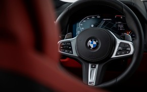 Picture black, coupe, BMW, the wheel, Gran Coupe, 2020, 8-Series, 2019, the four-door coupe, M850i xDrive, …