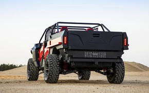 Picture Honda, rear view, 2018, Rugged Open Air Vehicle Concept