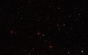 Picture Stars, Nebula, LMC, Large Magellanic Cloud, Digitized Sky Survey, MUSE, LHA 120-N 180B, Constellation Mensa, …