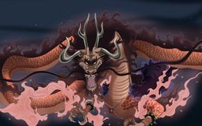 Wallpaper game, One Piece, pirate, anime, dragon, captain, fang, asian, manga, oriental, asiatic, powerful, strong, scar, ...