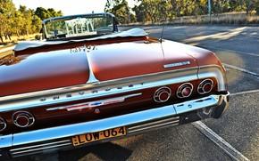Picture Red, Car, Impala, Lowrider, Custom