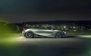 Picture McLaren, supercar, side view, Spider, Novitec, 720S, 2019
