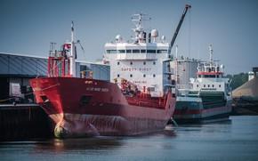 Picture ships, port, tanker, Netherlands, Flushing