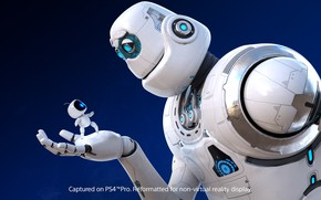 Picture background, the game, robots, Astro Bot: Rescue Mission