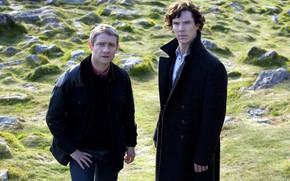 Picture nature, Martin Freeman, Benedict Cumberbatch, Sherlock, Sherlock BBC, Sherlock Holmes, John Watson, Sherlock (TV series)