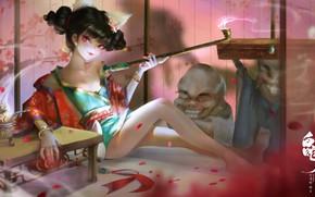 Picture anime, art, White Snake-the origin, ZM -PANDA