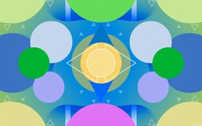 Picture color, circles, triangles, a remake, hellena