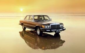 Picture 1972, classic car, mercedes 300 sd