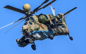 """Picture helicopter, attack helicopter, Mi-28NM """"Night superexotic"""", Mi-28NM"""