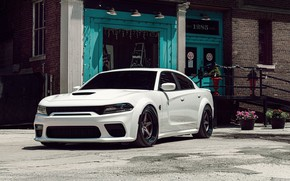 Picture Dodge, Charger, Hellcat, Widebody