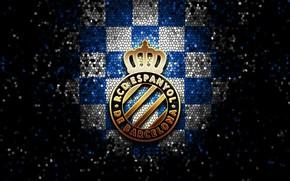 Picture wallpaper, sport, logo, football, La Liga, glitter, checkered, Spanish