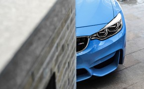 Picture BMW, Blue, F82, Sight, LED