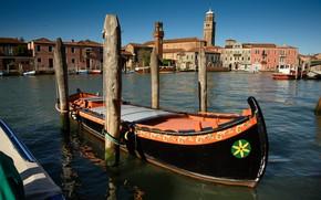 Picture Italy, Venice, the island of Murano