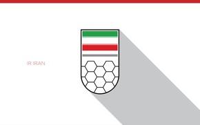 Picture wallpaper, sport, logo, football, Iran