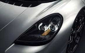 Picture coupe, headlight, V12, GMA, T.50, Gordon Murray Automotive, Type 50