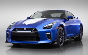 Picture Nissan, GT-R, 50th Anniversary, 50th Anniversary Edition, 2019, Bayside Blue