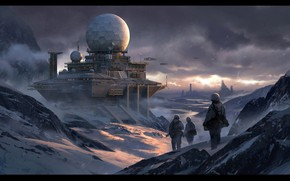 Picture snow, ball, construction, Snow Base, radarbase