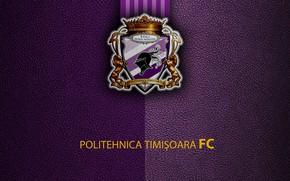 "Picture wallpaper, sport, logo, football, ""Politehnica"" Of Timisoara"