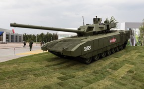 Picture tank, armor, T-14, the new generation, the Russian army, Forum «ARMY 2018», exhibition of arms, …
