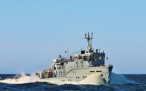 Picture Navy, Baltika, auxiliary, diving boat, RVC