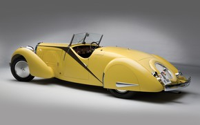 Picture Bugatti, Classic, Chrome, 1935, Classic car, Gran Turismo, Type 57, Bugatti Type 57 Grand Raid …