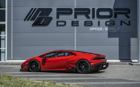 Picture Lamborghini, 2018, Widebody, Prior-Design, Huracan, PDLP610WB, Aerodynamik-Kit