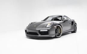 Picture Porsche, White, Gray, 991, VAG, Backgraud