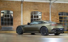 Picture Aston Martin, DBS, Superleggera, rear view, 2019, OHMSS, OHMSS Edition