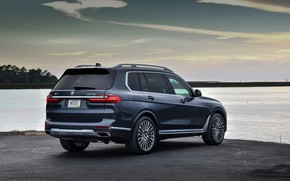 Picture shore, BMW, 2018, crossover, SUV, 2019, BMW X7, X7, G07, full-size