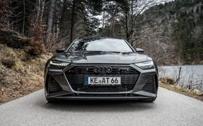 Picture Audi, front view, ABBOT, Before, RS6, RS 6, 2020