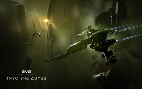 Picture space, station, asteroids, space, ruins, spaceship, station, eve online, space ship, into the abyss, coooper