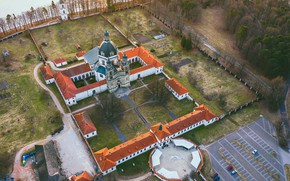Picture Lithuania, Kaunas, Monastery, Pažaislis