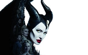 Picture poster, Maleficent, Elle Fanning, El Fanning, 2019