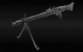Picture MG42, Germany ., A single machine gun